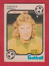 Norwich City Tony Powell